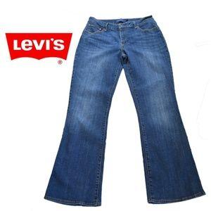 Levi's  Boot Cut  Medium Wash Bold Curve